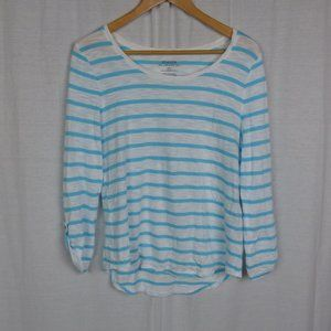 Chico's The Ultimate Tee Women's Striped Shirt